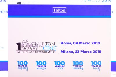 Hilton Italia Effect – RECRUITING DAY